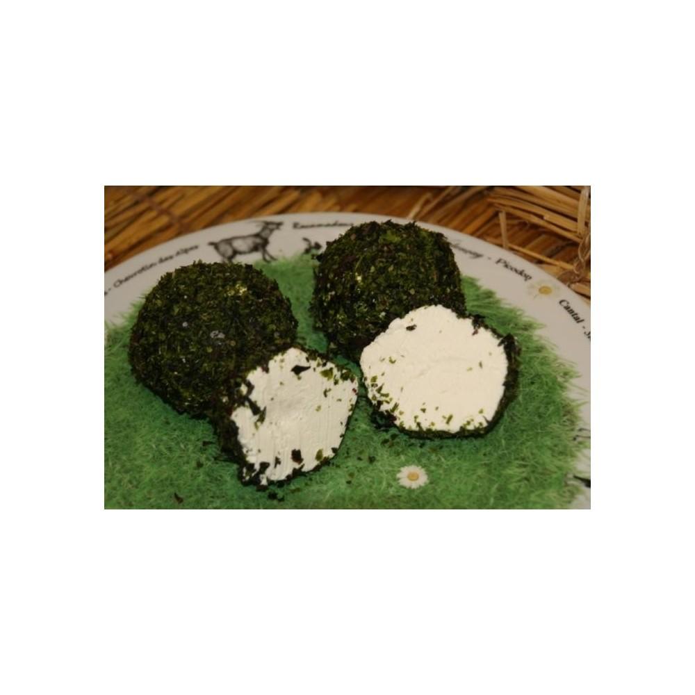 fromage de chèvre aux algues